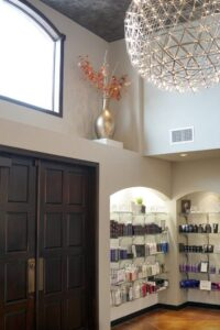 Interior Design at Domani Salon