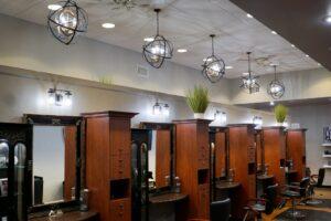 Interior Design Service Area at Domani Salon