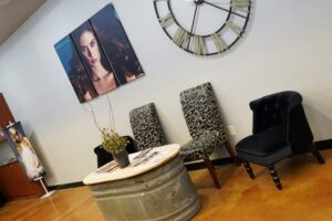 Waiting Area At Domani Salon