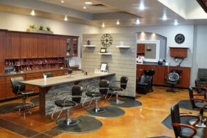 Service Area at Domani Salon and Spa
