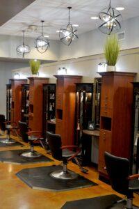 Service Area at Domani Salon and Spa
