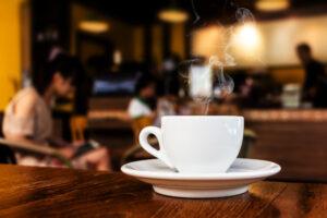 Coffee at Domani Salon and Spa