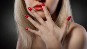 Manicure at Domani Salon and Spa