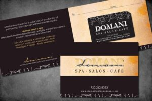 Gift Card at Domani Salon and Spa
