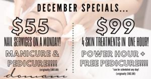 Domani December Specials