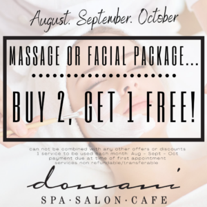 Domani Salon and Spa Special Promo